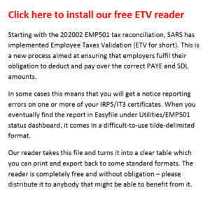 Download setup file for ETV Reader